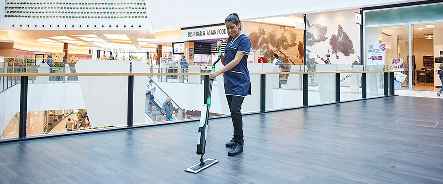 erGO! clean floor cleaning system