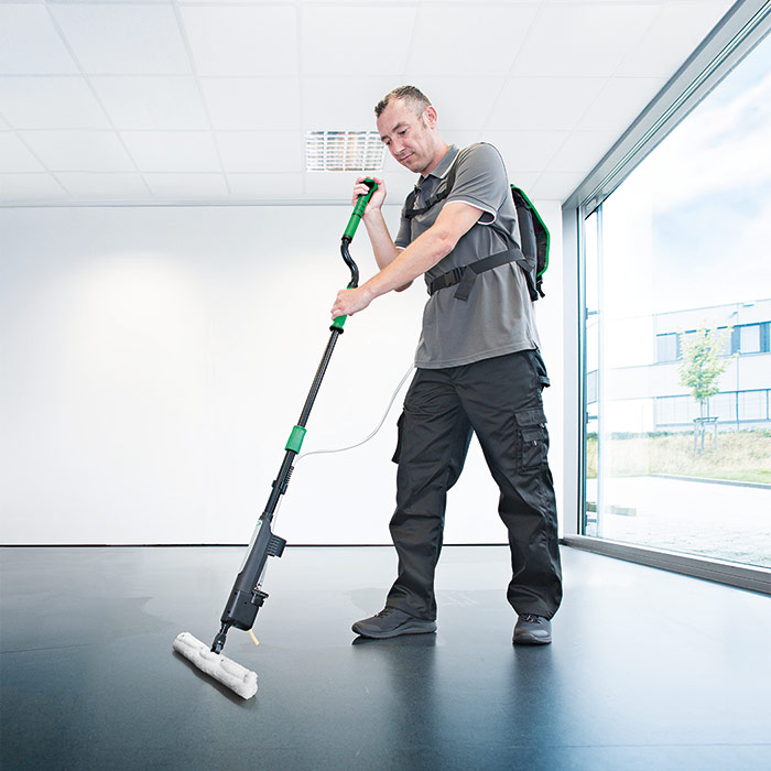 erGO! wax floor coating system