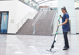 Unger erGO clean floor cleaning system faster more ergonomic and more efficient