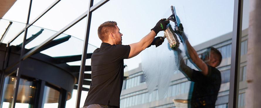 Nettoyage classique des vitres